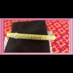 J. Crew AB Crystal Hinged Bracelet
